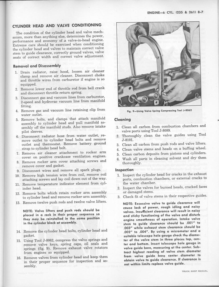 1960 235-261 Engine Manual