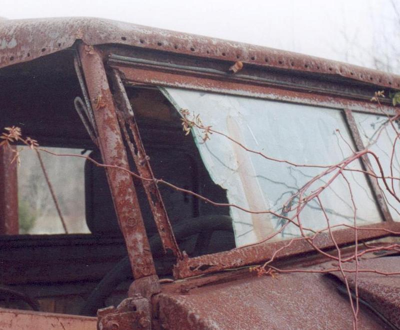Dodge M37 Windshield Frame.