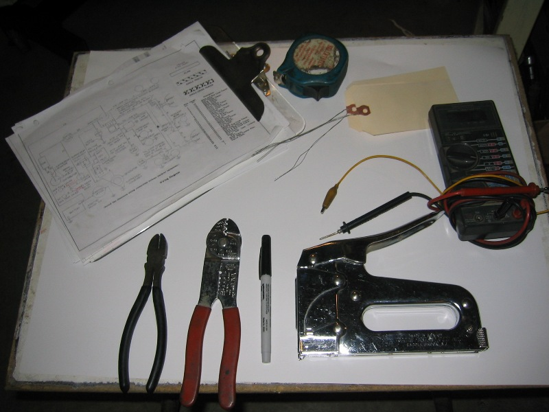 Once The Entire Wiring Harness Is Spread Out On Attached To Board And Label Then Process Of Measuring Recording Each Individual Length: Automotive Wiring Harness Process At Satuska.co